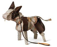 Billie Achilleos Art for Louis Vuitton.  Pretty Tim Burtonish.