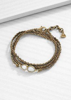Rosy Wrap Bracelet
