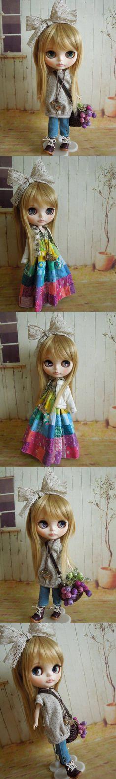 Aguri * Custom Blythe * casual style - Auction -! Rinkya Japan Auction & Shopping
