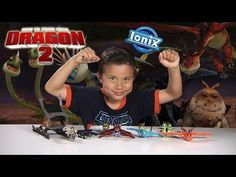How to Train Your Dragon 2 TOOTHLESS VIKING ATTACK & Dragon MINIFIGURES by Ionix