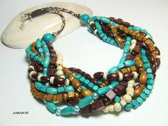 Halskette WILD BEACH von JUBIARTE auf DaWanda.com