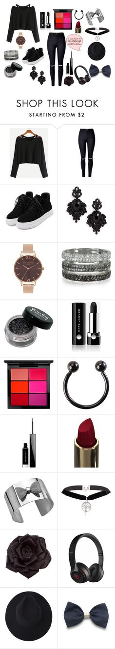 """We'll carry on/And though you're broken and defeated(rtd for an update on my Crazy and possibly psychotic(scratch that definitely) friends)"" by aspen-amber ❤ liked on Polyvore featuring Tasha, Olivia Burton, Bernard Delettrez, Marc Jacobs, MAC Cosmetics, Givenchy, Johnny Loves Rosie and Beats by Dr. Dre"