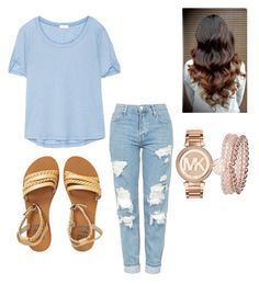 """""""Untitled #35"""" by kayalucena on Polyvore featuring Splendid, Topshop, Billabong, Michael Kors and Monsoon"""