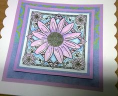 Thank You Card | Black Flower Creative