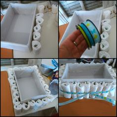 Baby shower diy favors boy tutorials 63 Ideas for 2019 Baby Shower Crafts, Diy Shower, Baby Crafts, Baby Shower Themes, Shower Gifts, Shower Ideas, Baby Shower Baskets, Baby Shower Diapers, How To Make A Diaper Baby