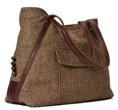 LOVE this shop!! Vivien A Tote Made From A Sport Coat MADE TO by EvonCassier1, $239.00