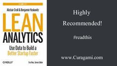 Lean Analytics Book Is A #mustread For Marketers