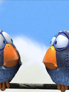 For The Birds. Best Pixar short ever made.