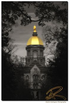 Golden Dome, Notre Dame Indiana