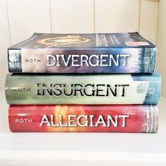 Divergent trilogy. time to start reading :)