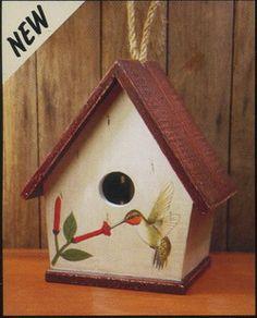 A-Frame Hummingbird Bird House - www.wildbirdshops.com