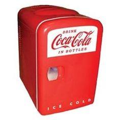 This Koolatron Cocoa-Cola Personal 6-Can Mini Fridge is a collector's favorite…