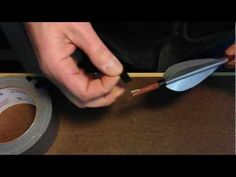 Another way to do duct tape fletching. - YouTube
