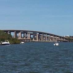 Gorgeous day on the Indian River, #IndianRiverlagoon, #brevardbeauty, #nosnowinFlorida, #sunnyFlorida, #sandymelbourne, #520causeway