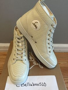 louboutin spikes sneakers - Christian Louboutin Rantus Orlato Mens Flat Riviera Python Crystal ...