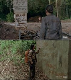 Glenn Is The Unpaid Intern of The Apocalypse - The Walking Dead Memes that live on after the characters and season ended. Memes are the REAL zombies of the show. Walking Dead Funny, Walking Dead Zombies, Fear The Walking Dead, Carl Grimes, Twd Memes, Funny Memes, Dead Man, Best Shows Ever, Movies Showing