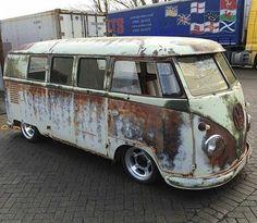 Volkswagen Bus, Vw T1, Vw Camper, Kdf Wagen, Kombi Home, Rat Look, Ferdinand Porsche, Porsche Design, Vw Beetles