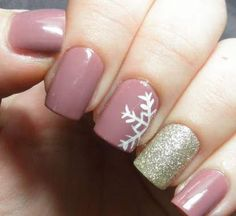 awesome 9 Winter Wonderland Nail Art Designs