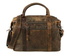 Greenburry VINTAGE Revival - Leder Business-Tasche Aktentasche Lehrertasche…