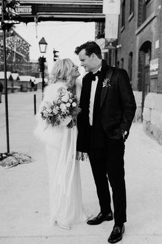 A small and intimate but oh so classy New Year's Eve wedding set in the Distillery District during a chilly Toronto winter. A sub zero wedding shoot to rival all others! Wedding Sets, Wedding Shoot, Wedding Dresses, Toronto Winter, Toronto Wedding, Distillery, New Years Eve, British Columbia, Wedding Photography