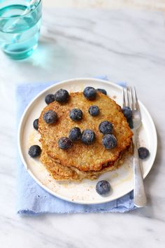 Havermoutpannenkoeken met appel en kaneel Sugar Free Recipes, Low Carb Recipes, Healthy Diners, Pancakes, Breakfast Recipes, Dessert Recipes, Go For It, Bbc Good Food Recipes, Vegan Sweets