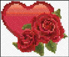 Material Type: Aida Generic White Sewing Count: 14/inch or 55/100mm Design Size: 55 x 46 stitches Sewn Design Size: 3.9 x 3.3 inches or 100 x 83 mm Suggested Material Size: 9.8 x 9.2 inches or 250 x 233 mm Stitch Style: Cross-stitch Using 2 strands