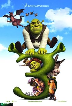 The King of Far Far Away has died and Shrek and Fiona are to become King & Queen. However, Shrek wants to return to his cozy swamp and live in peace. Shrek, Dreamworks Movies, Dreamworks Animation, Cartoon Movies, Animation Series, Eddie Murphy, Peliculas Audio Latino Online, Princesa Fiona, Movies Worth Watching