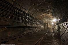 Abandoned subway tunnels