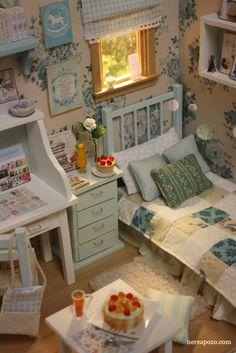 Nerea Pozo Art: ♥ Custom Handmade Diorama Country Dream ♥