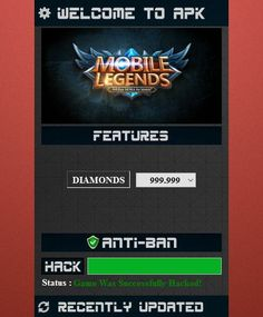 Mobile Legends Hack Generator — Mobile Legends Free Diamonds Mobile Legends Hack 2019 Updated Generator — How to Get Unlimited Diamonds No Survey No Verification Mobile Legends Bang Bang Hack — Get. Bang Bang, Wireframe, Moba Legends, Episode Choose Your Story, Design Ios, Play Hacks, App Hack, Android Hacks, Iphone Mobile