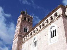 Quinto, Zaragoza, Spain. Iglesia Nuestra Señora de la Asunción (El Piquete). Arte mudéjar. Patrimonio de la Humanidad de UNESCO