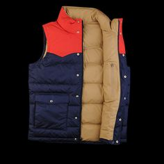 Slingshot Down Vest in Classic Navy by Patagonia