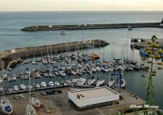 Santa Maria , Azores marina almost full !!