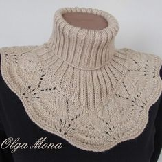 Knit Or Crochet, Crochet Scarves, Cardigan Sweaters For Women, Sweater Cardigan, Neck Warmer, Crafts To Do, Cowl, Knitting Patterns, Turtle Neck
