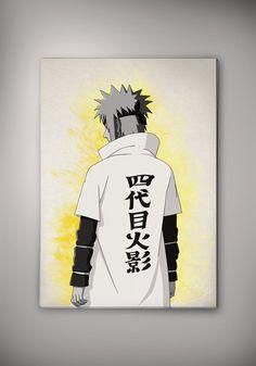Minato Namikaze Naruto Shippuuden Anime Manga Watercolor Print Poster  No222 by EpicShoppe on Etsy