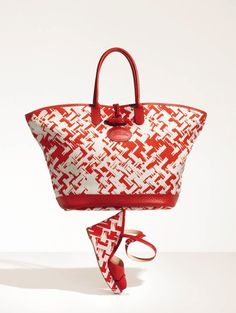 Longchamp - Sandales Sunweave - SS 2013 Collection