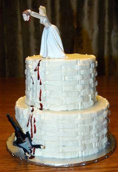 For a divorce party celebration!   Ummm Audrey....I like this cake.  Hahahahahaha