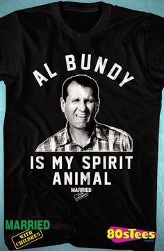 Al Bundy Spirit Animal T-Shirt: Married With Children Mens T-Shirt