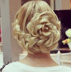 I like this one the best! Good prom hair style!