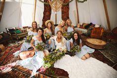daughters of simone bridesmaids