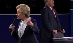 Trump Shags A Chair During The Debate And Photoshop Pros Are All Over It