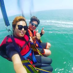 Instagram의 변동옥님: 코타키나발루 페러세일링 . . . #travel #instagram #trip #travelgram #backpacker #worldtour #daily #malaysia #kotakinabalu #parasailing #여행 #배낭여행 #세계여행 #세계정복 #정복왕 #큐티후 #소