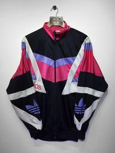 Adidas track jacket size Medium (but Fits Oversized) £32 Website➡️ www.retroreflex.uk #adidas #trefoil #vintage #retro #truevintage #fashion
