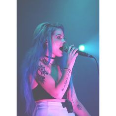 ashley frangipane ❤ liked on Polyvore featuring halsey, pictures and celebrities