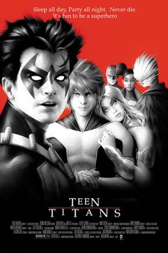 Some super heroes are better together. See the Teen Titans as The Lost Boys! (Cover art by Alex Garner) The Complete DC Comics Movie Poster Covers, Part 2 | DC Comics