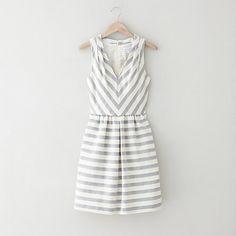 Grey + white + stripes /// LH