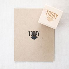 Today  Rubber Stamps for Project Life by blinksoflife on Etsy, $21.00