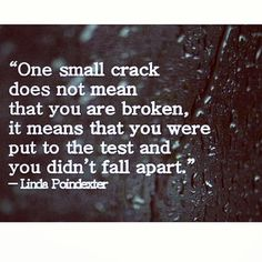 #truth #yes #notbroken #strong #quote