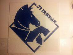 Randers FC hesten - Lavet af Pia Thomadsen