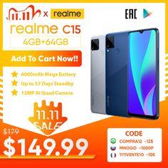 Realme C15 Global Version Smartphone 4GB RAM 64GB ROM 6000mAh Big Battery Quick Charge Mobile phone 6.5inch Android Telephone realme c15 price,realme c15 phone,realme c15 unboxing,harga realme c15,realme c15 blue,realme c15 camera,realme c15 specs,realme c15 mobile,realme c15 box, #realmec15price #realmec15phone #realmec15unboxing #hargarealmec15 #realmec15blue #realmec15camera #realmec15specs #realmec15mobile #realmec15box